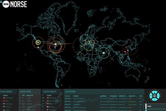 8 Top Cyber Attack Maps And How To Use Them Cso Online