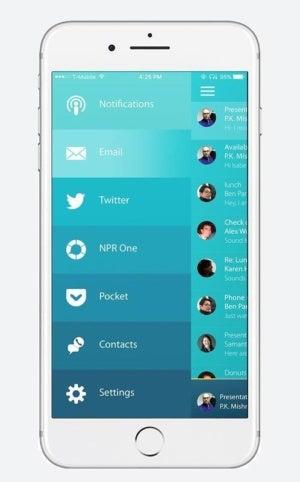 o6 iphone app menu