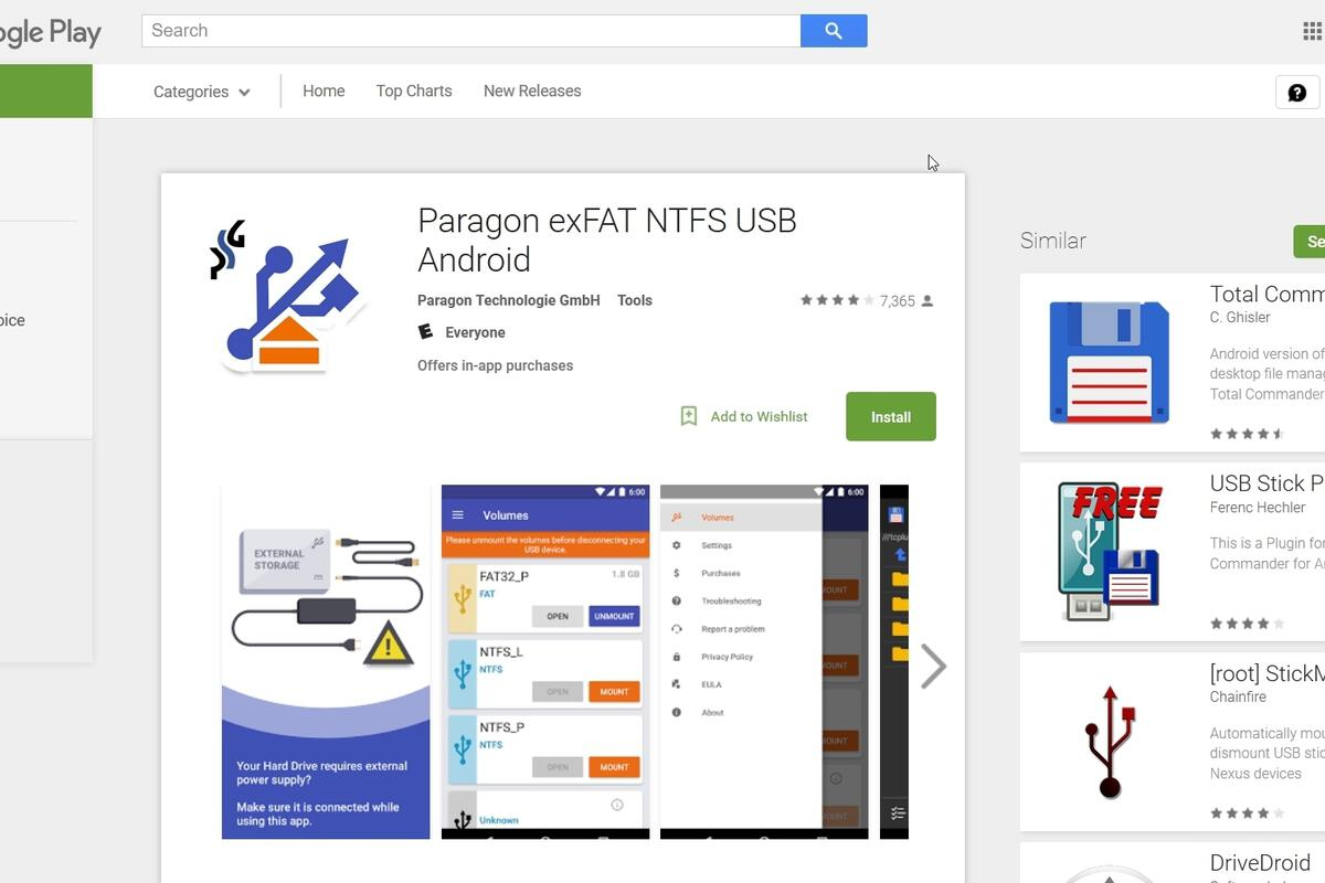 Paragon exFAT NTFS USB Android review | TechHive