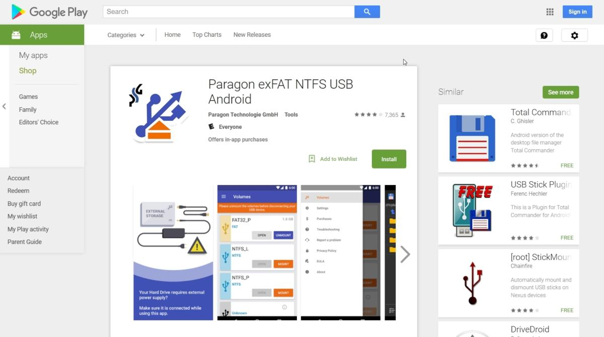 ba3945dace0da Paragon exFAT NTFS USB Android review | TechHive