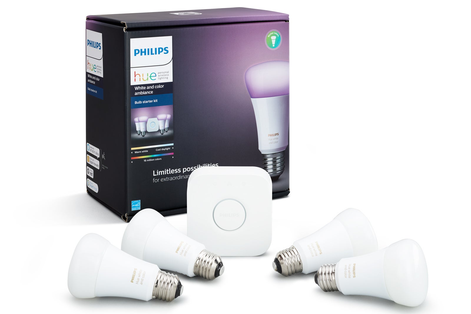 The best smart home products of 2017 techhive - Philips hue starter kit ...