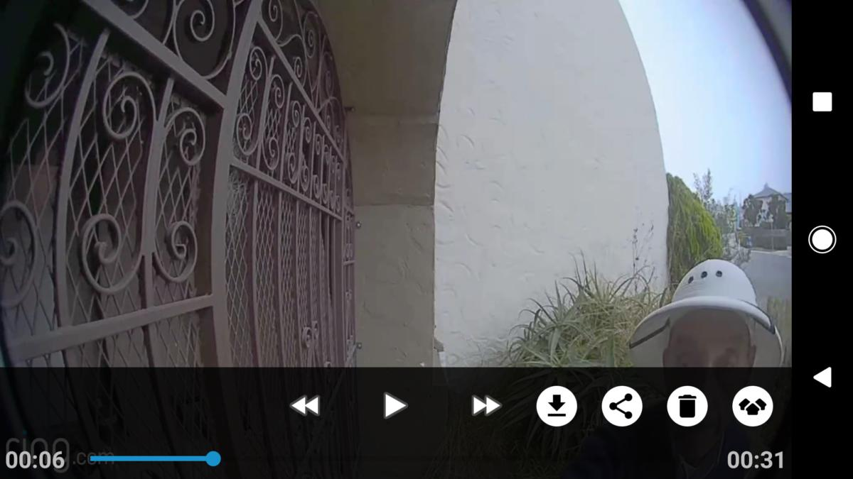 ring video doorbell 1080p image