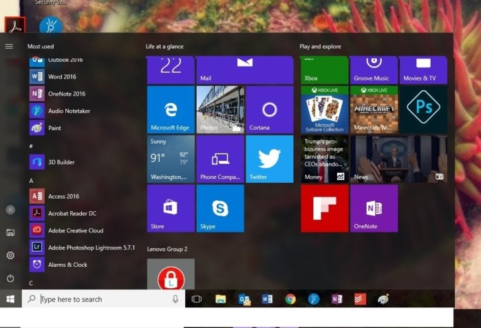 s2 windows start