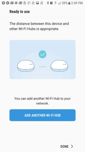 samsung connect app distance
