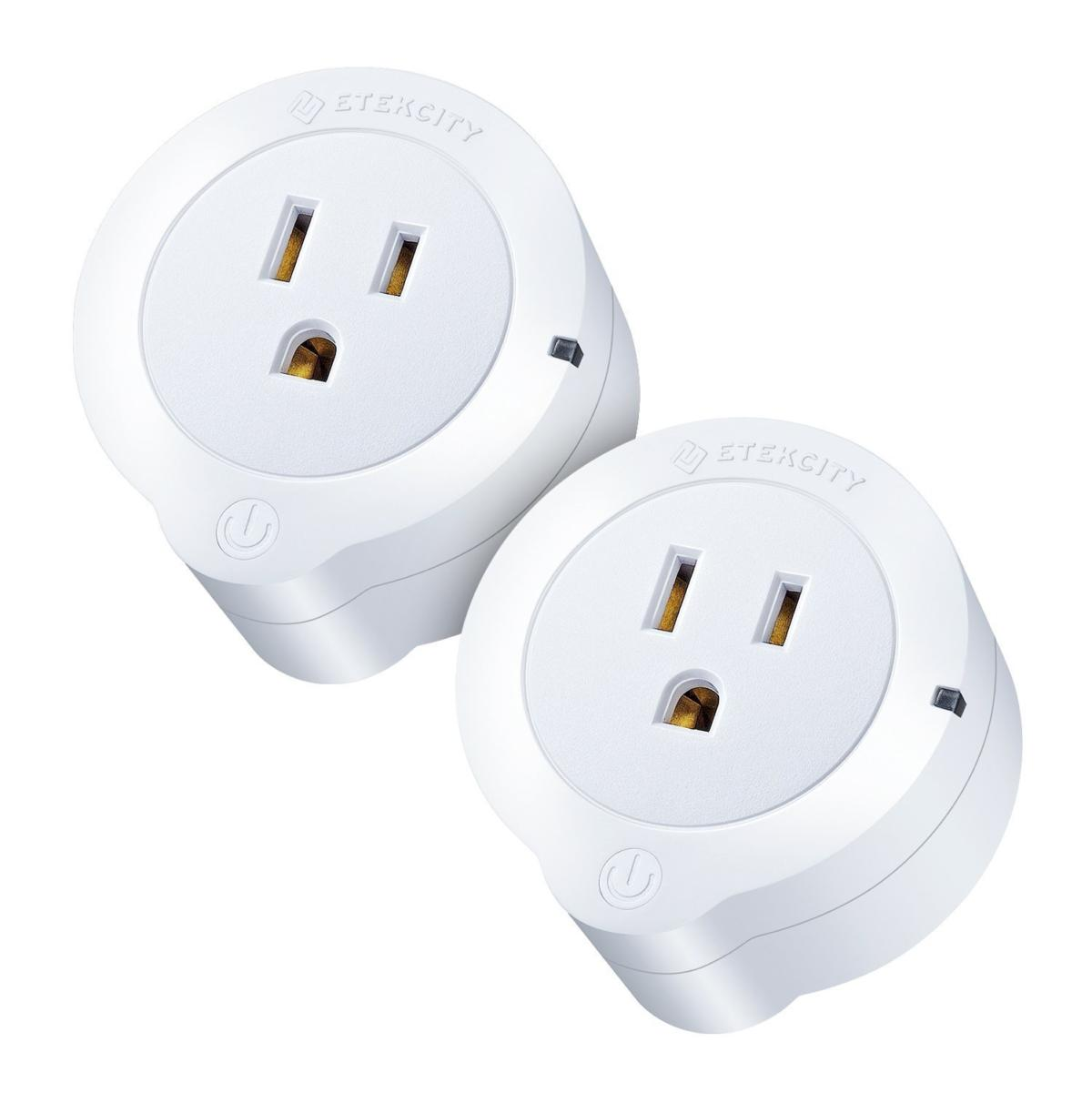 29 For Two Etekcity Smart Plugs With Alexa Compatibility