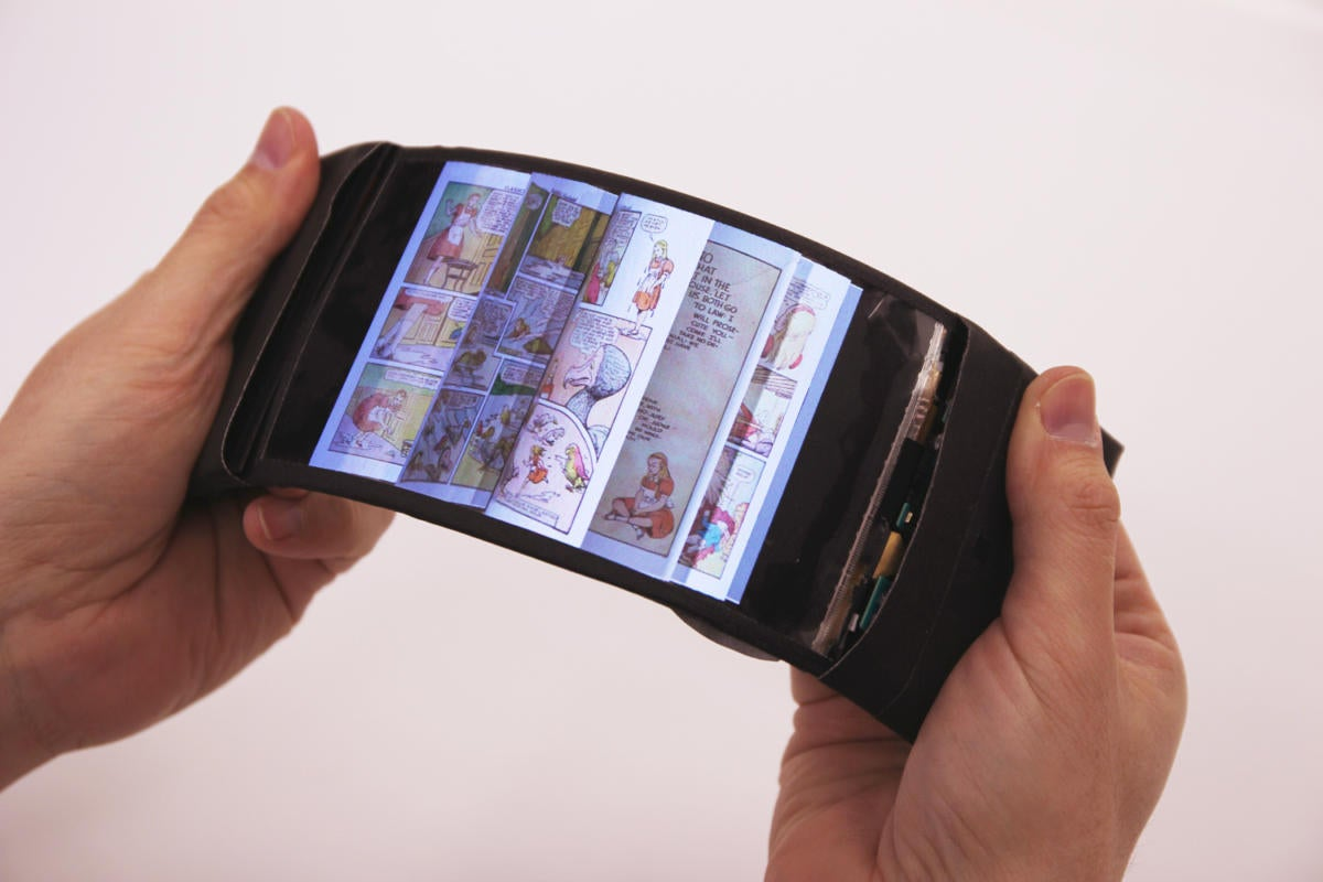 smartphone of tomorrow - ReFlex phone prototype