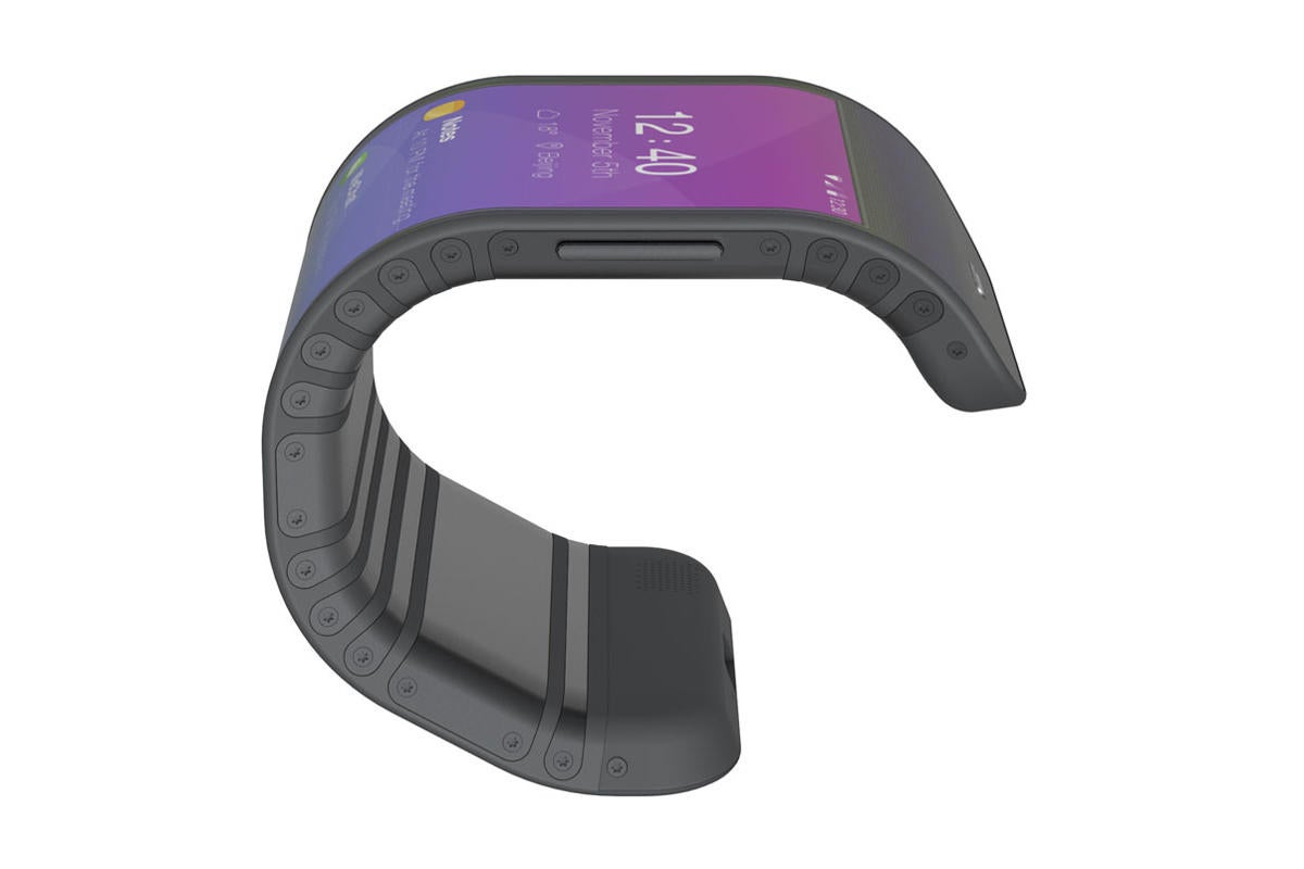 smartphone of tomorrow - Lenovo CPlus bracelet phone