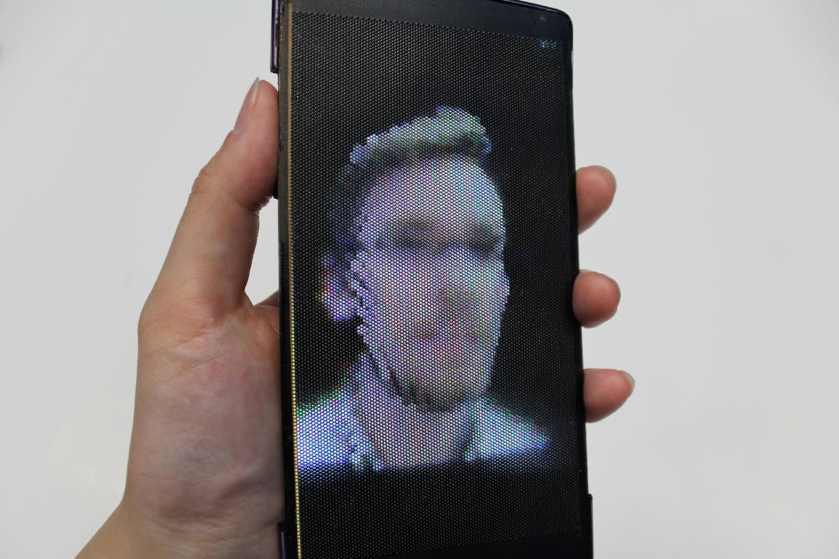 smartphone of tomorrow HoloFlex phone prototype