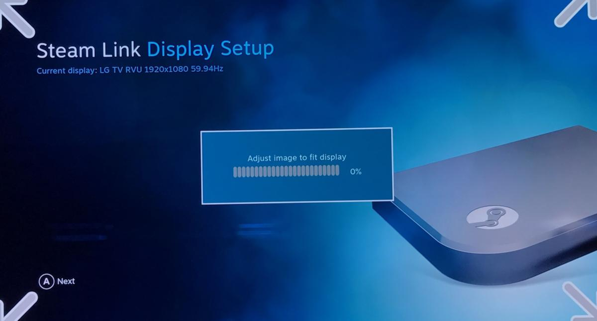 steam link 2 display setup