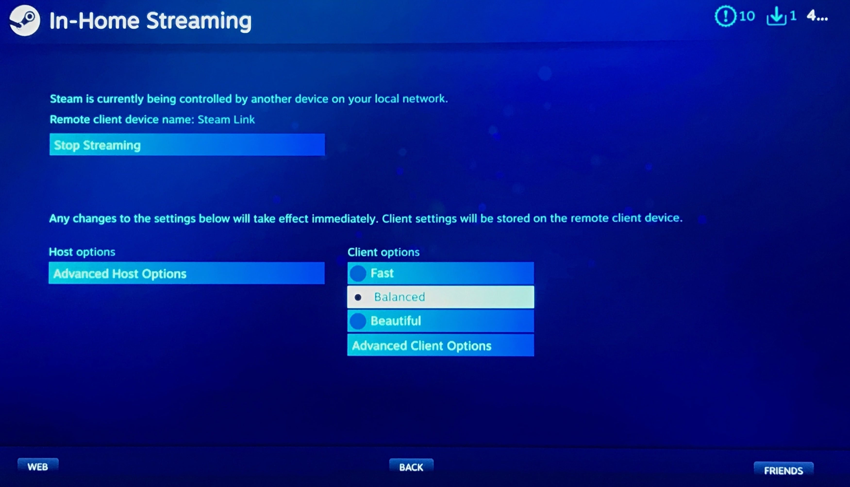 Streaming: How To Set Up Steam Link