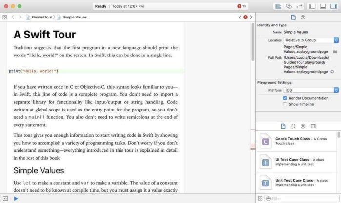 Wie lerne man Apple Swift, die Sprache von Apple für die Erstellung von iOS und MacOS Apps