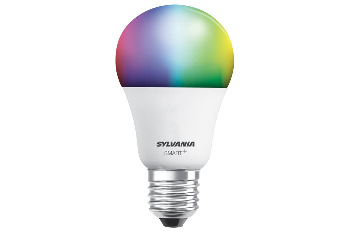 Sylvania Smart Color Light Bulb Review Supports Homekit