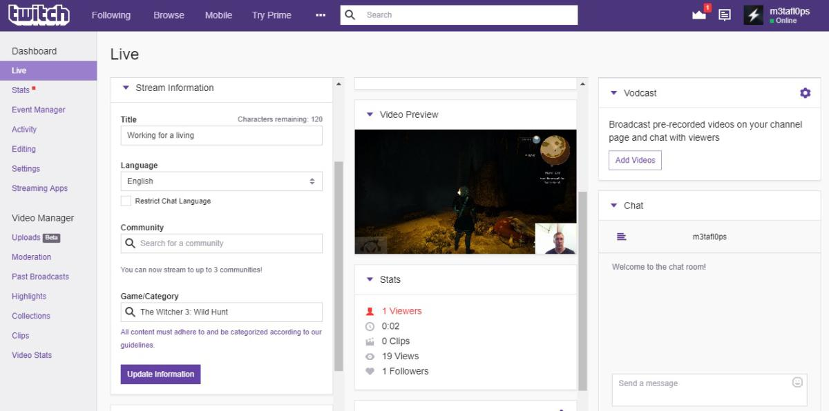 How to stream PC games on Twitch | PCWorld