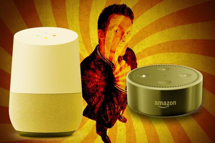 Choose between Amazon Echo and Google Home