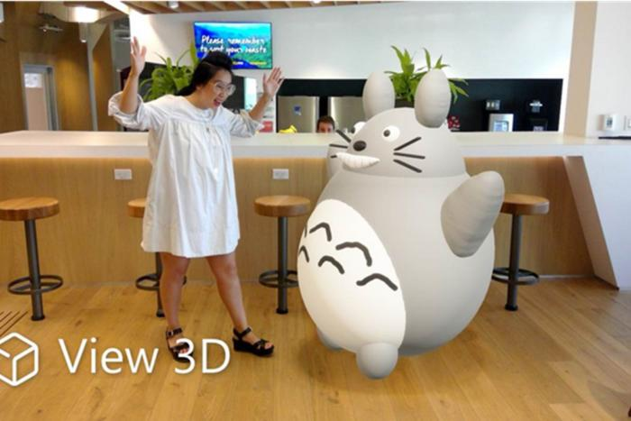 windows 10 view 3d mixed reality