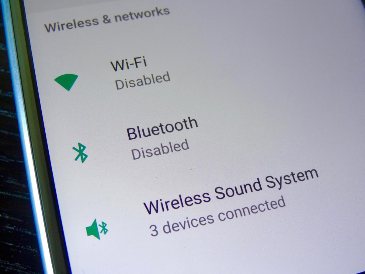 Moto X4 wireless settings