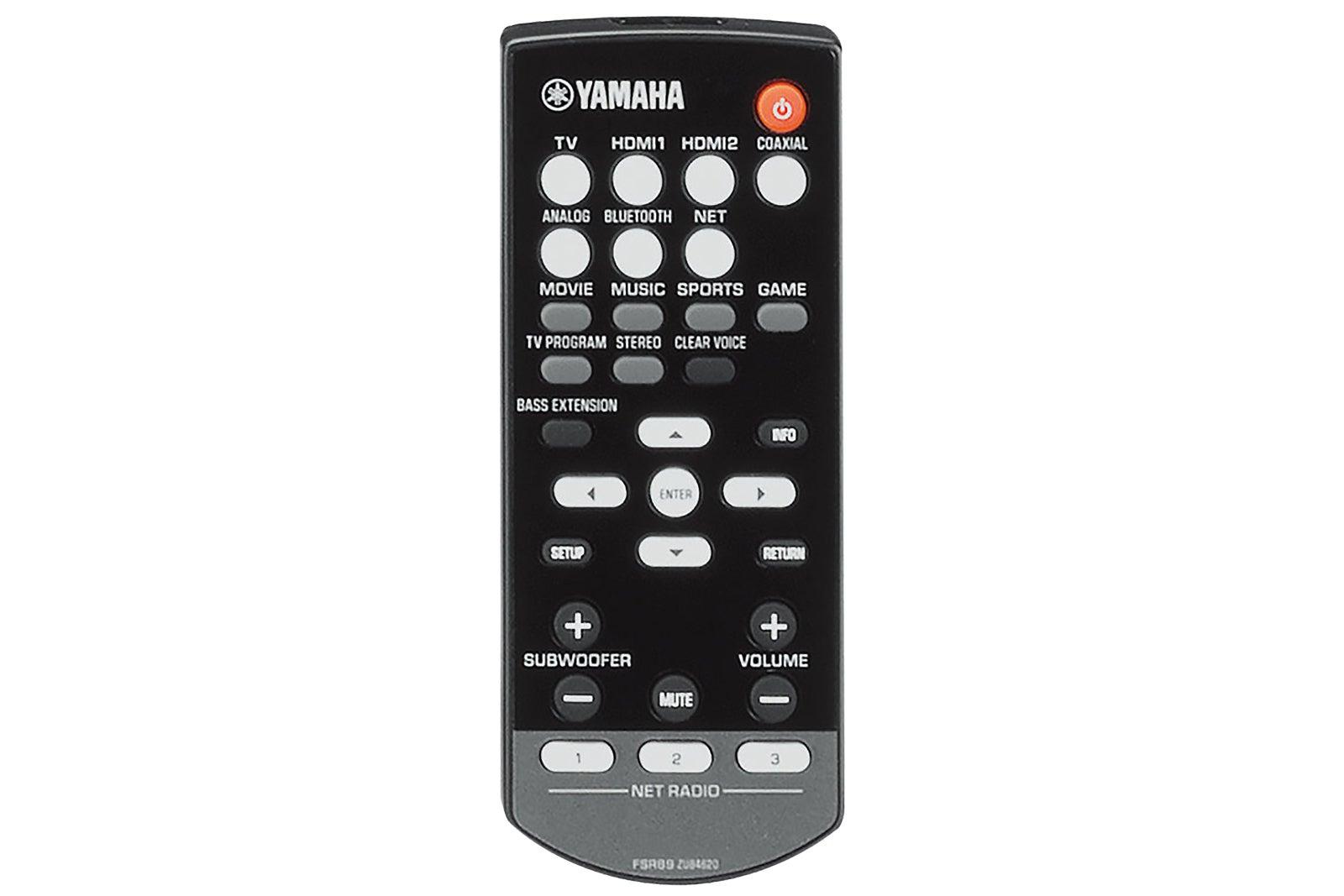 Yamaha yas 706 musiccast soundbar review a perfect for Yamaha remote control app