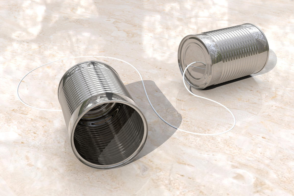 3D tin can phones, by Chris Potter / CC BY 2.0