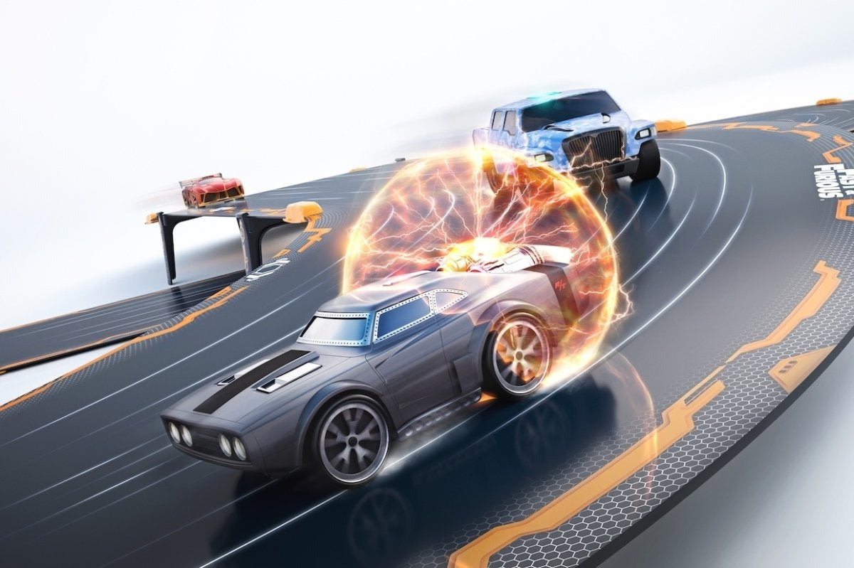 Pictures Of Cool Cars >> Anki Overdrive's app-steered robot race cars get a Fast & Furious boost | Macworld