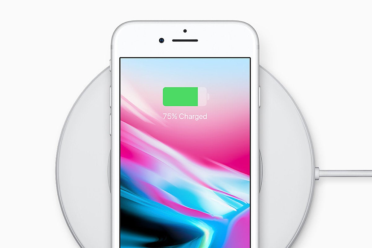 Apple iPhone 8 - wireless charging