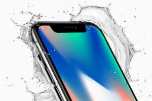 Apple iPhone X - water resistance