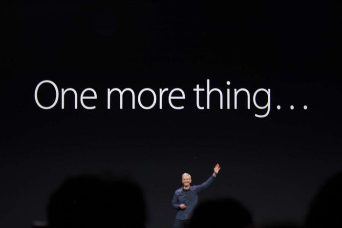 apple watch one more thing