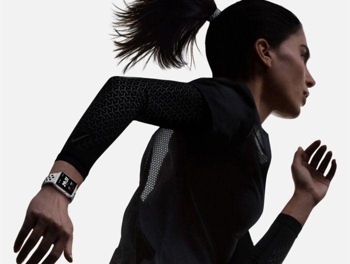 apple watch series 3 running