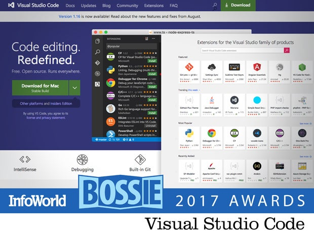 bos17 visual studio code