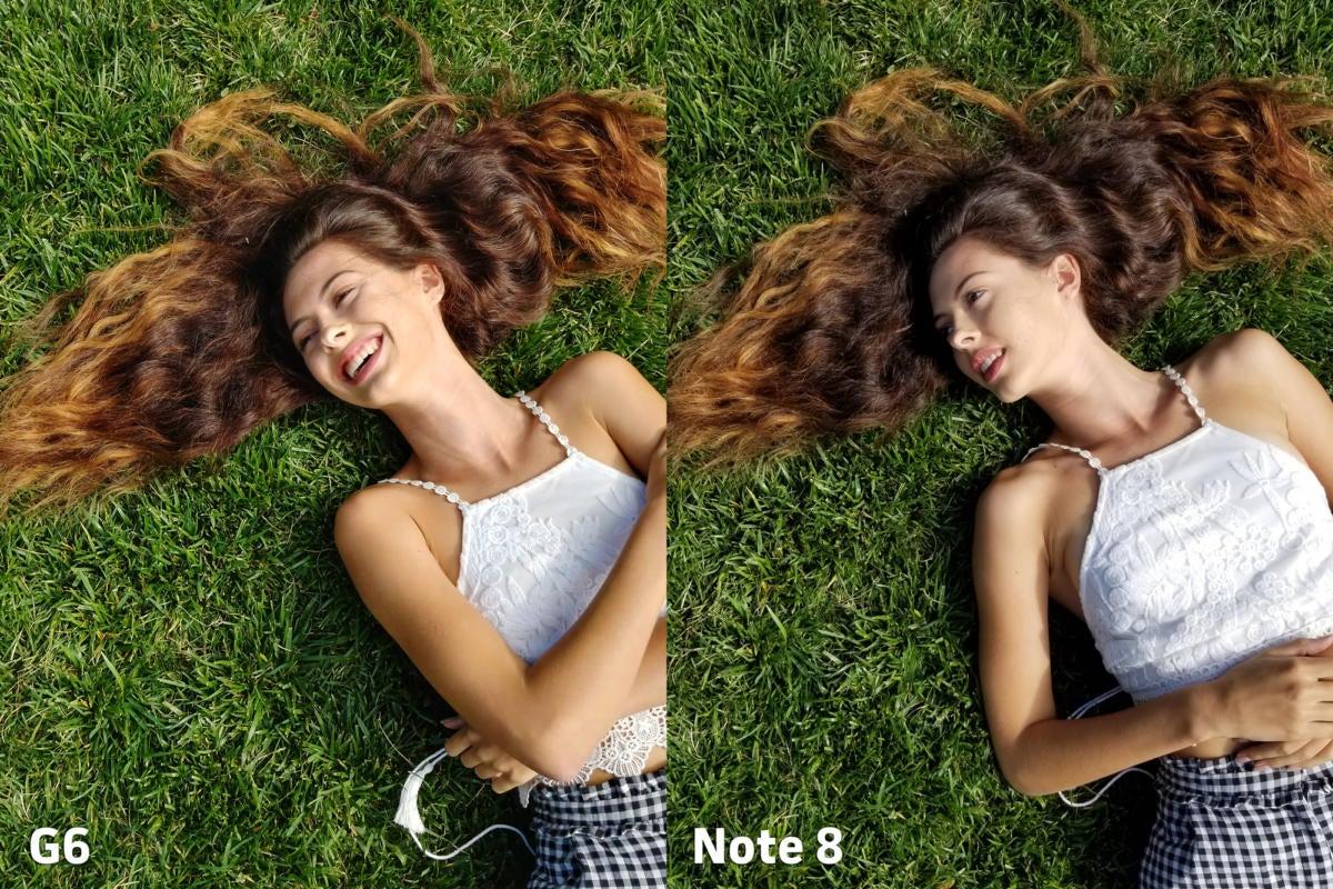 LG G6 vs Samsung Galaxy Note 8 camera clarity 1