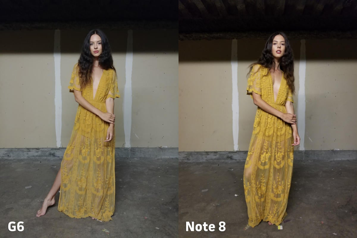 LG G6 vs Samsung Galaxy Note 8 camera clarity 3