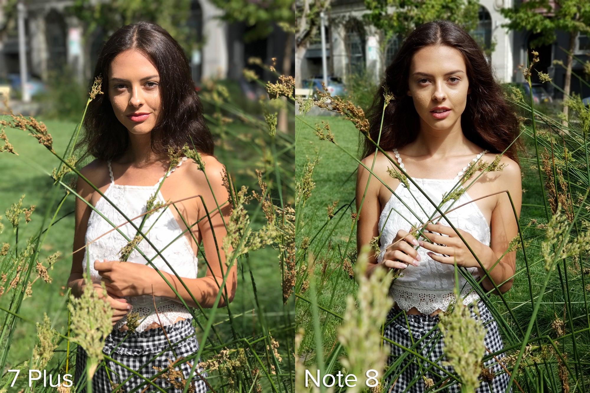 Tested Galaxy Note 8 Live Focus Vs Iphone 7 Plus Portrait