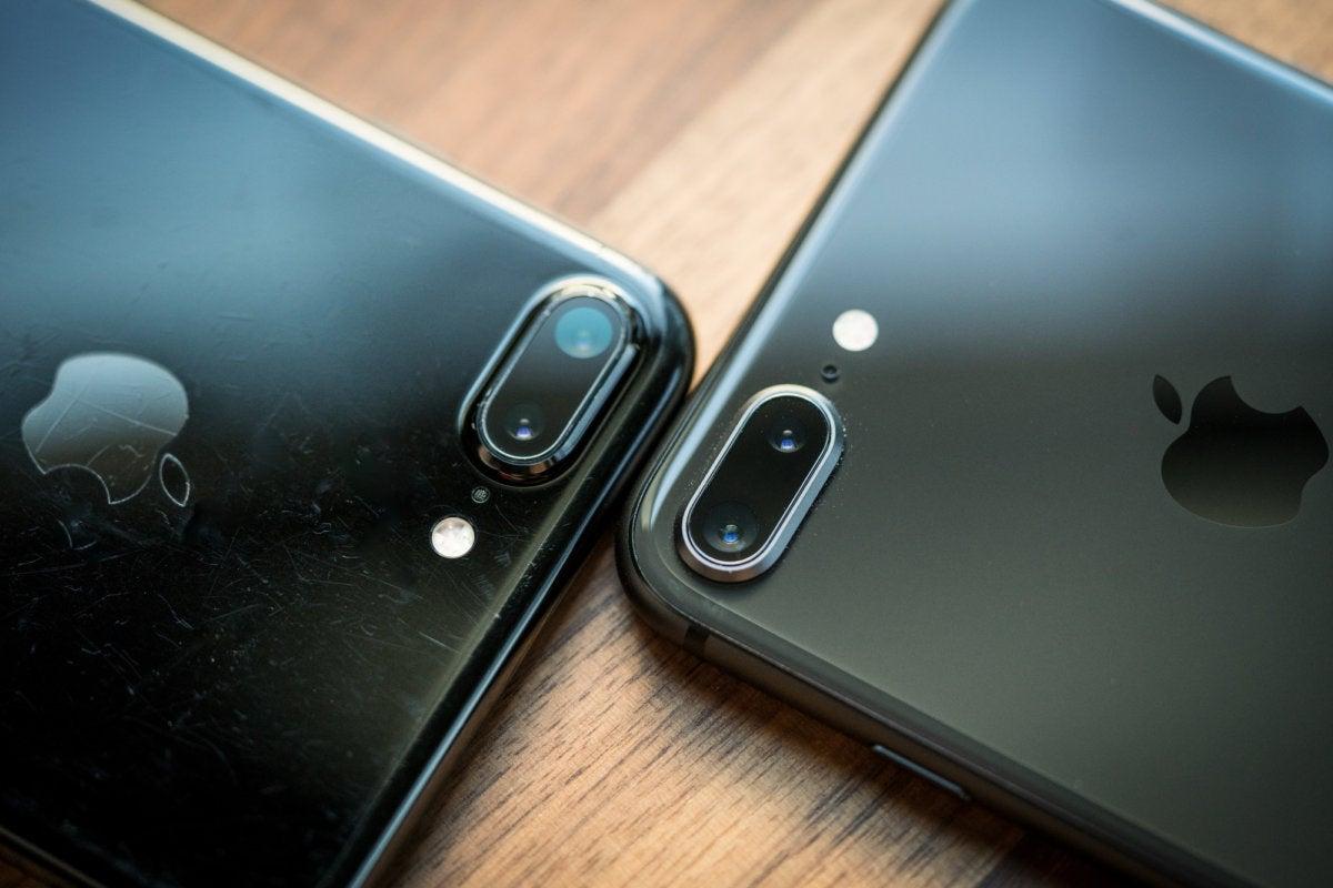 iPhone 8 Plus and 7 Plus cameras