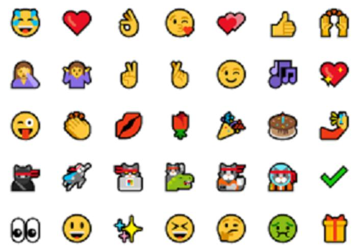 emoji primary Windows 10