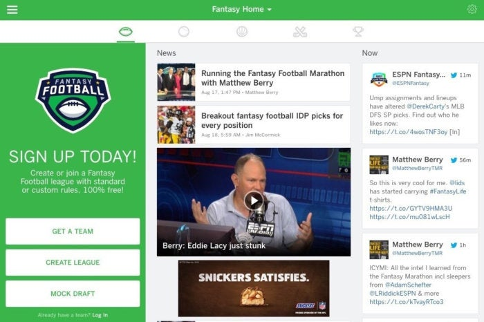 It's football season! We pick 5 second-screen apps for NFL