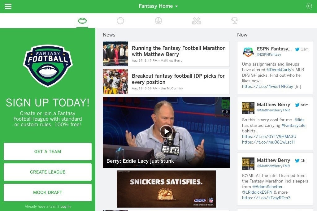 It S Football Season We Pick 6 Second Screen Apps For Nfl