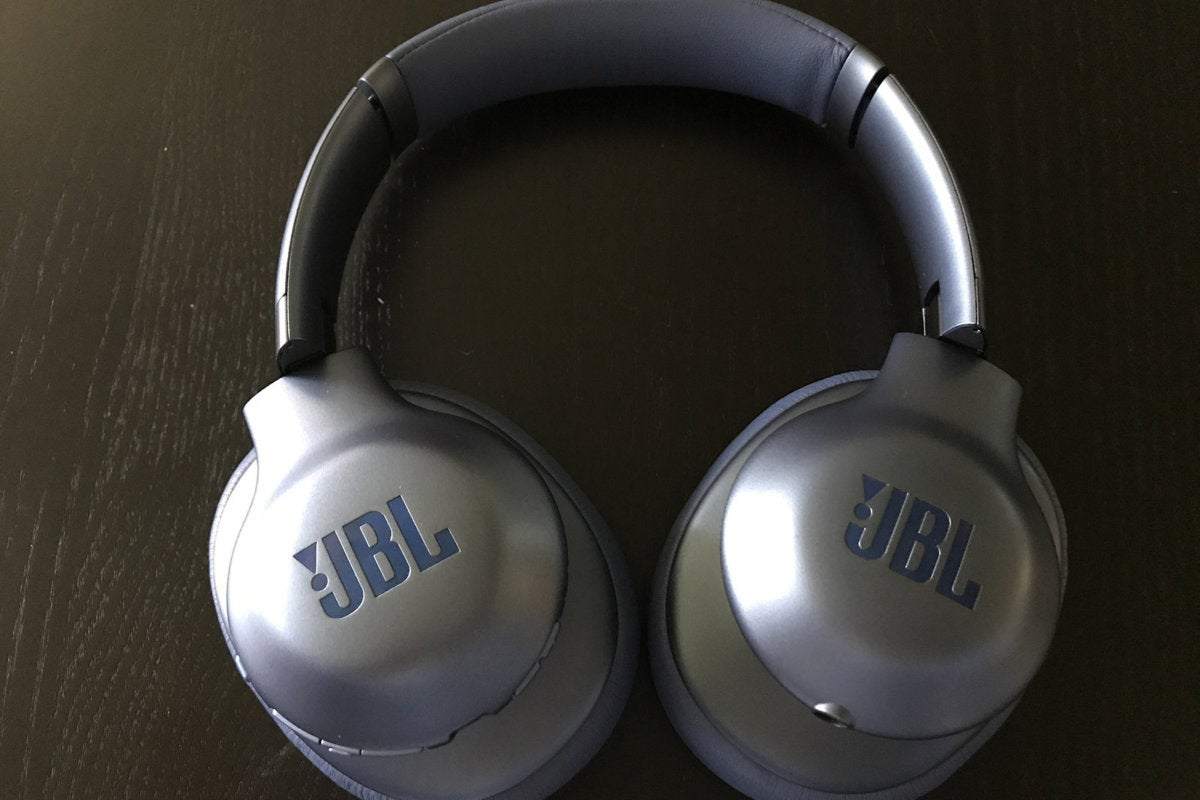 The JBL Everest Elite 750NC ear cups fold for flat storage.