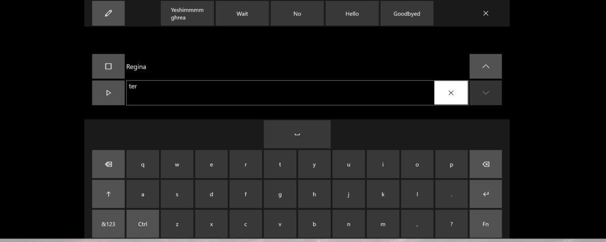 eye control text to speech eye control mouse Microsoft Windows 10 Fall Creators Update