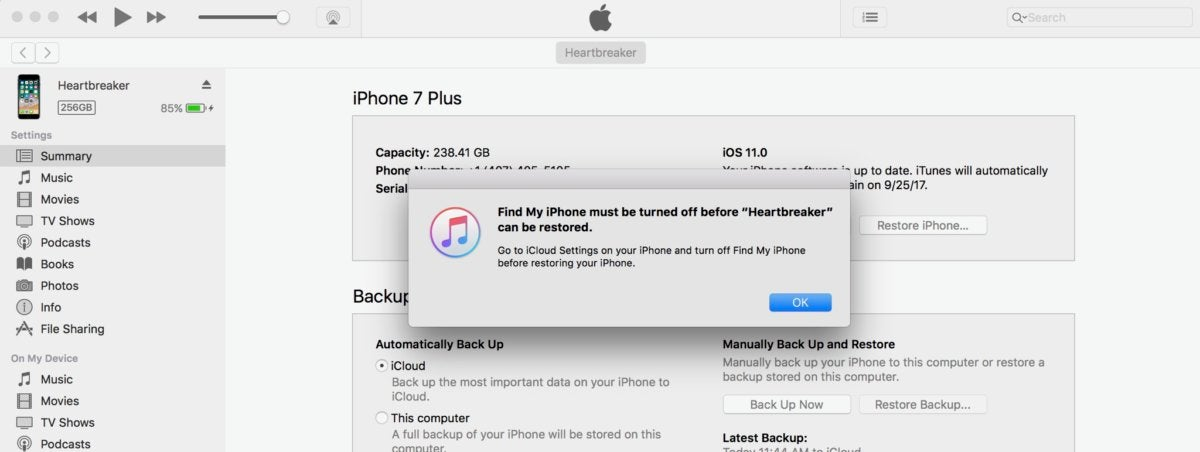How to restore an iPhone and use recovery mode | Computerworld