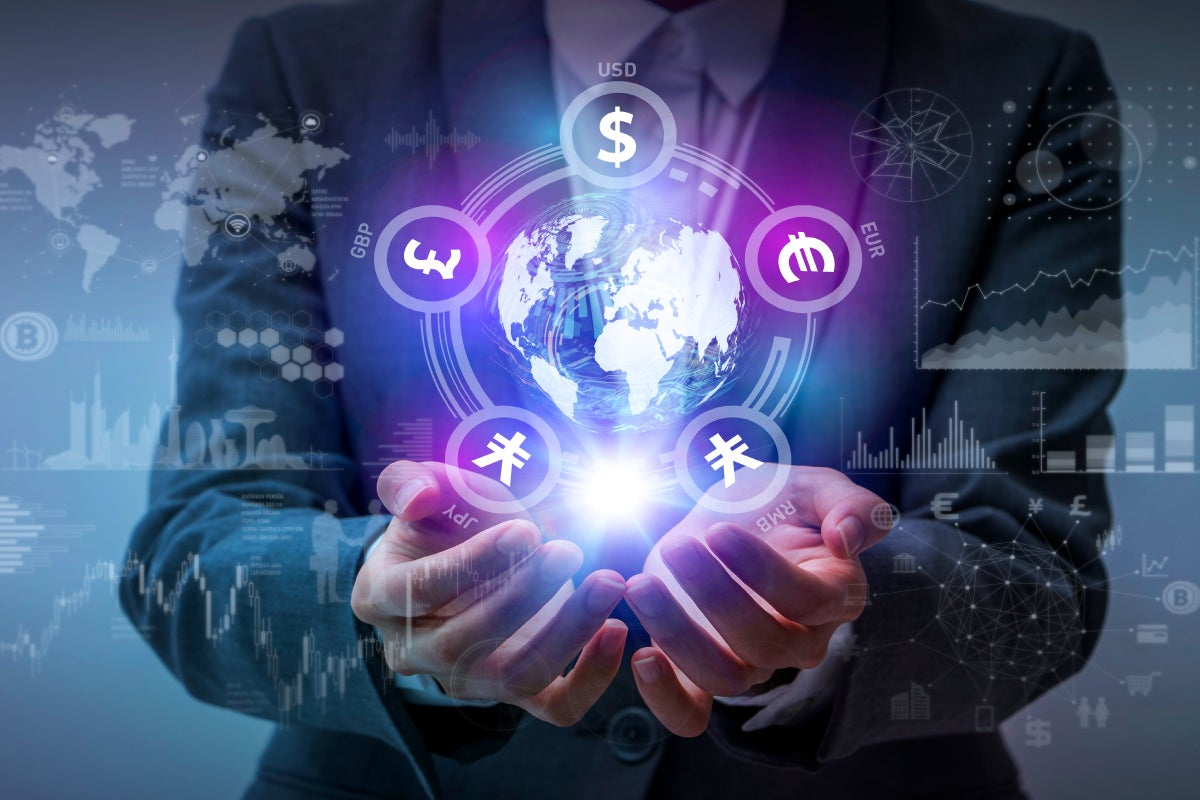technology financial fintech globe currency blockchain data symbols digital disruptors defending thinkstock evolved recruiting offerings platform business insurance