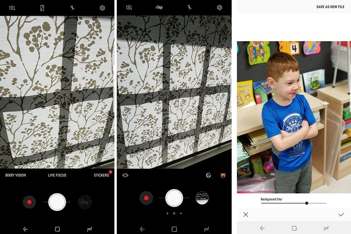 galaxy note 8 camera app