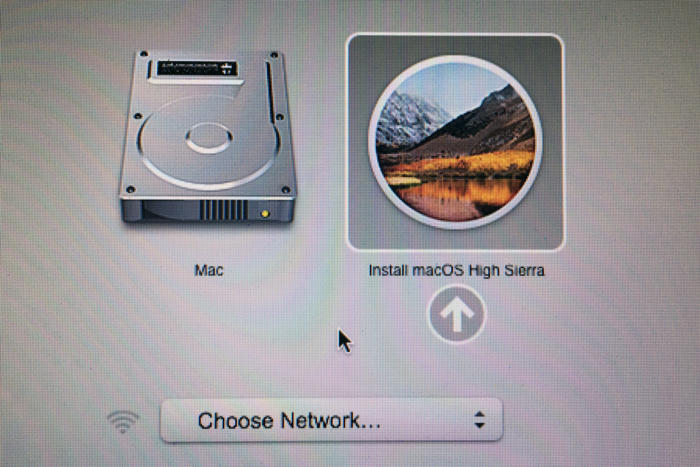 high sierra usb stick create