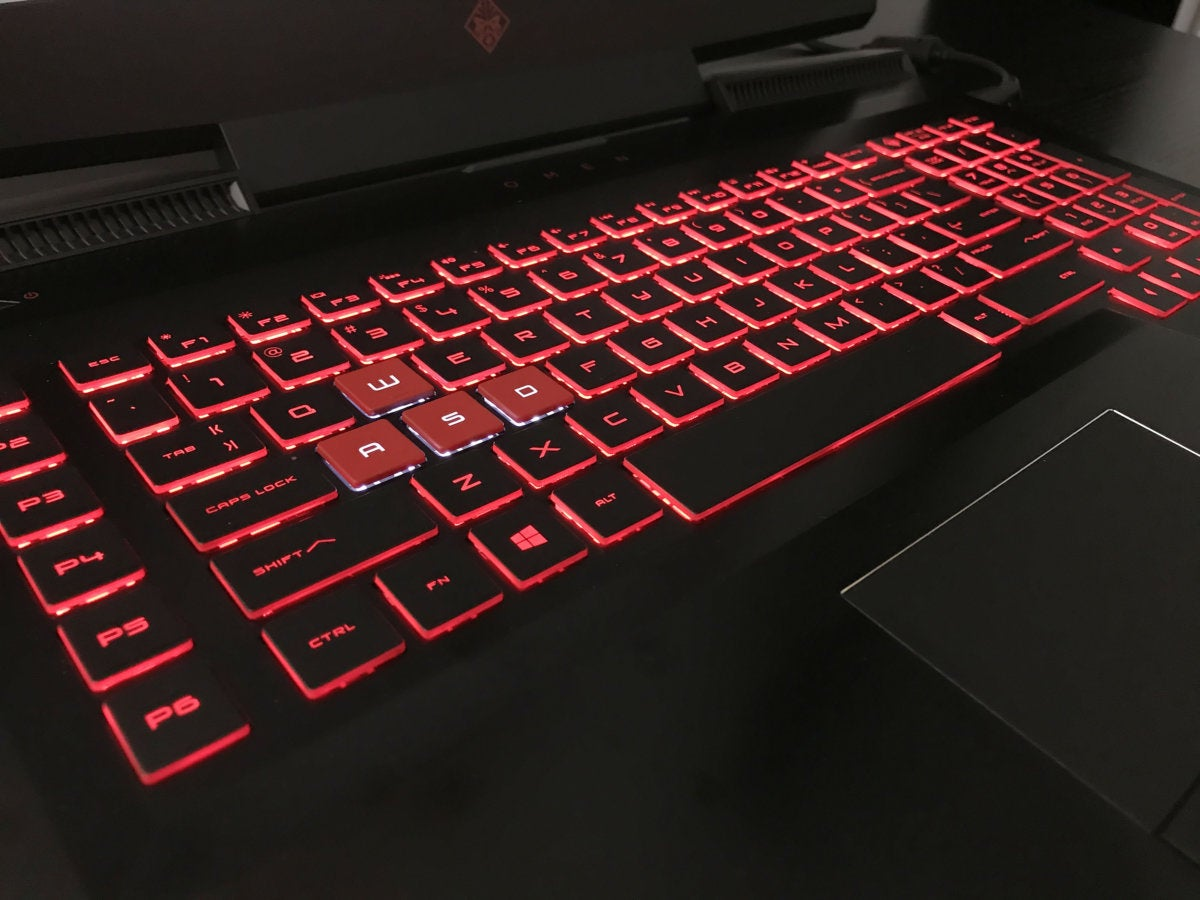 hp omen lights