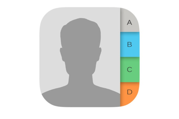 ios contacts icon