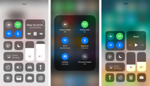 ios control center three