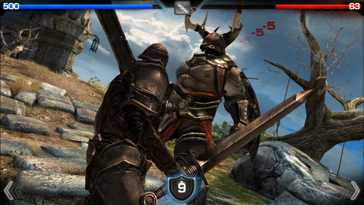 ios11 games infinityblade