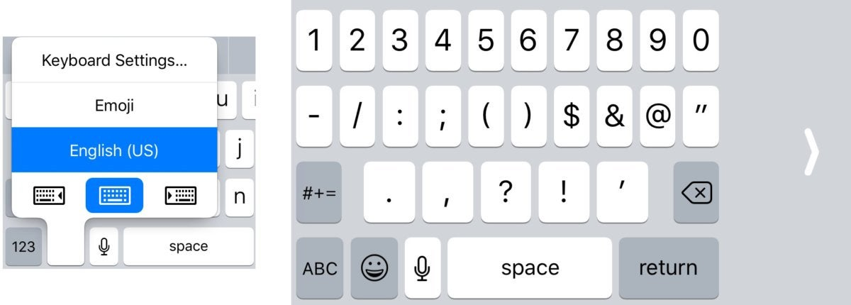 ios11 keyboard