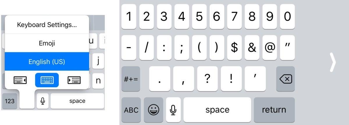 ios11 keyboard