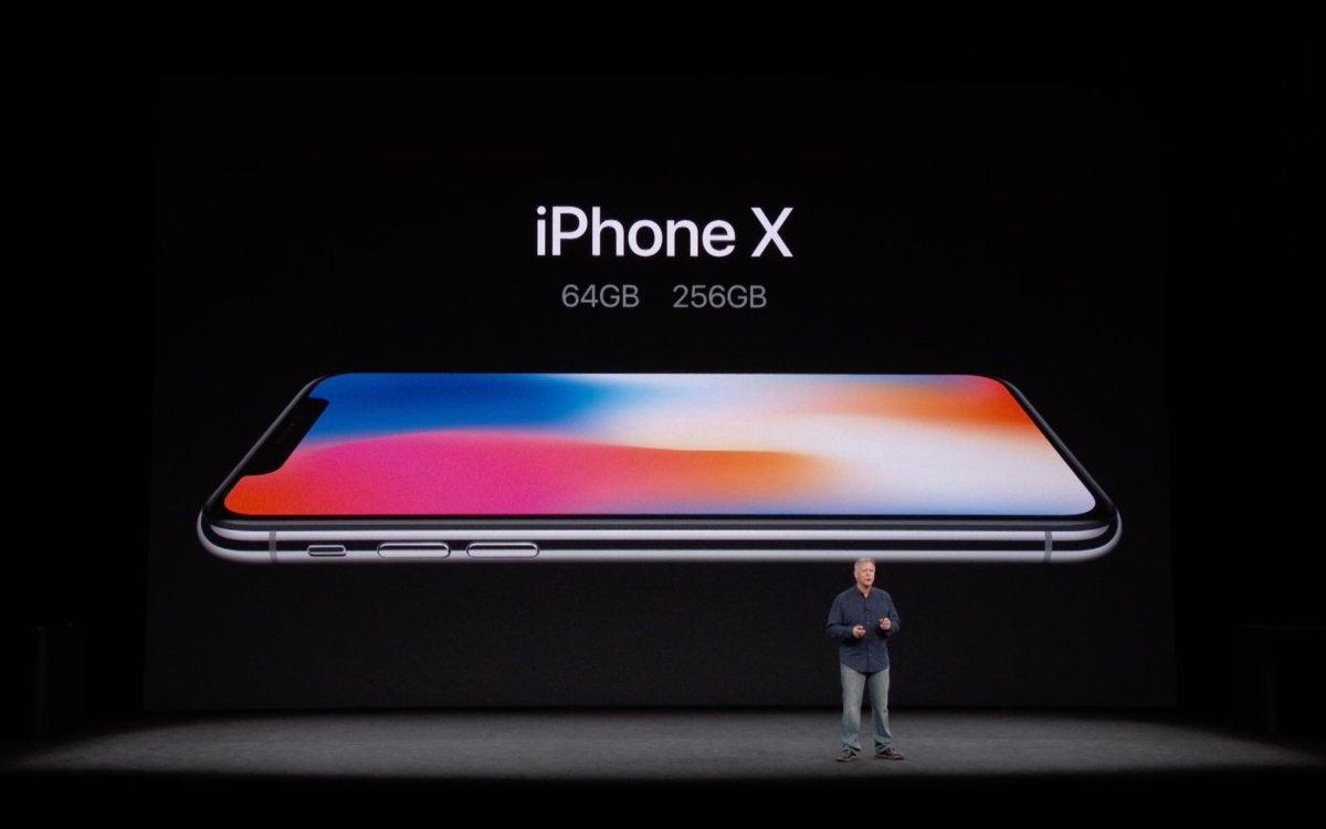 iphone x storage options