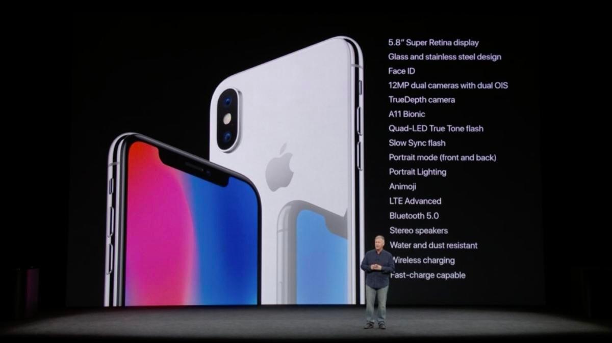 iphonex specs slide schiller