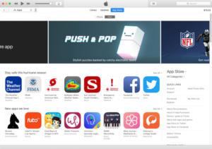 itunes 126 app store